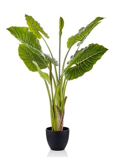 The Mia Yapay Çiçek 110 Cm Saksılı Yeşil